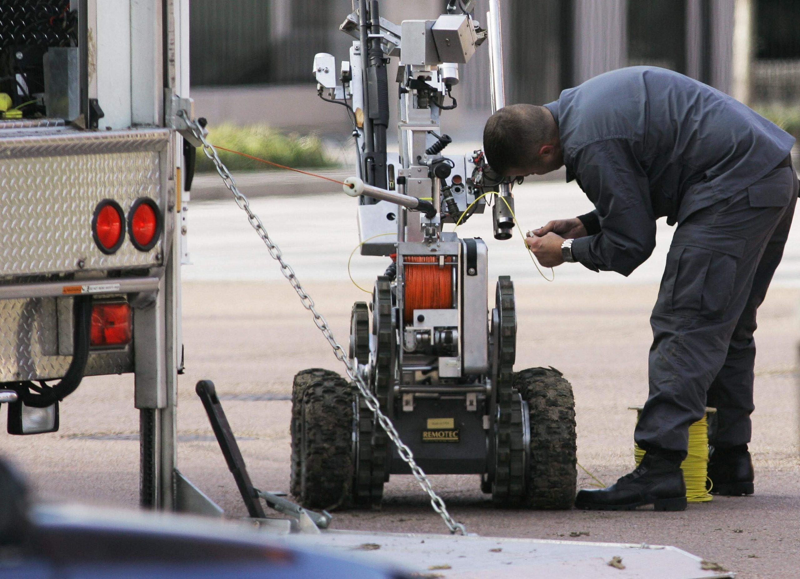 Killer police robots and AI drones will further distance us from the act of killing