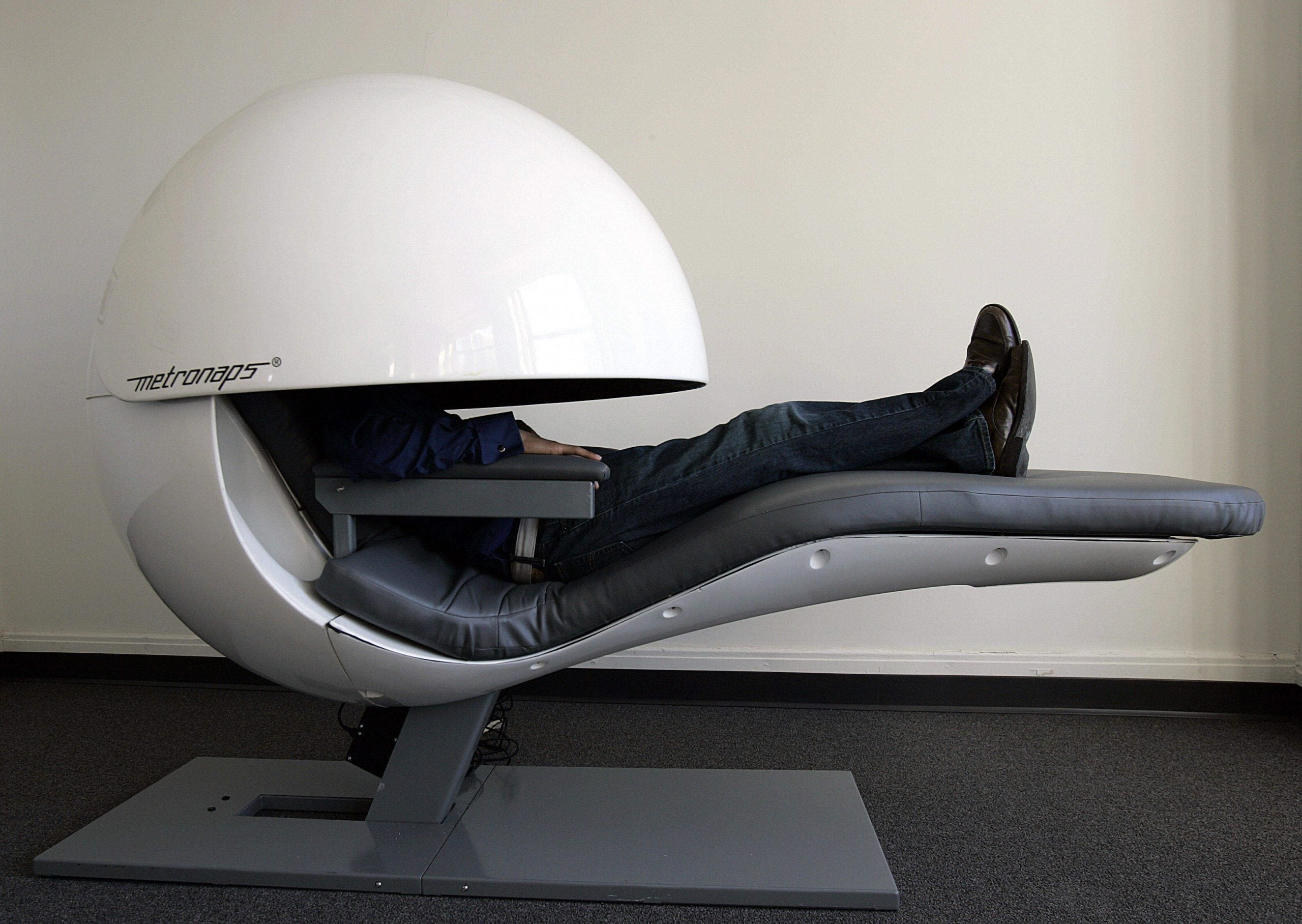 Nap pods: unproductive gimmick, or a lifeline for increasingly sleep-deprived workers?