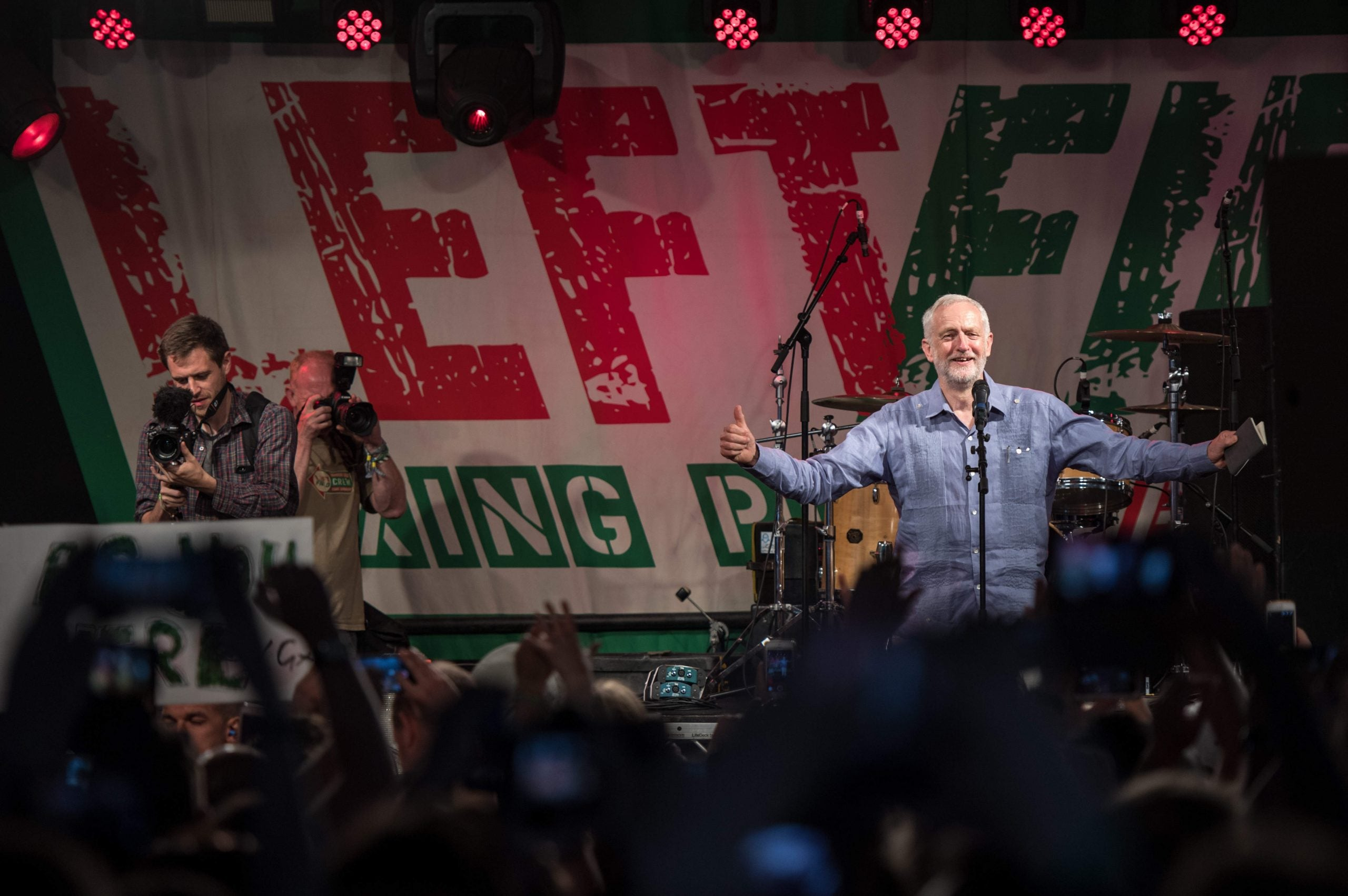 Corbyn at Glastonbury, more Brexit variations, and why it's too late for goodbyes