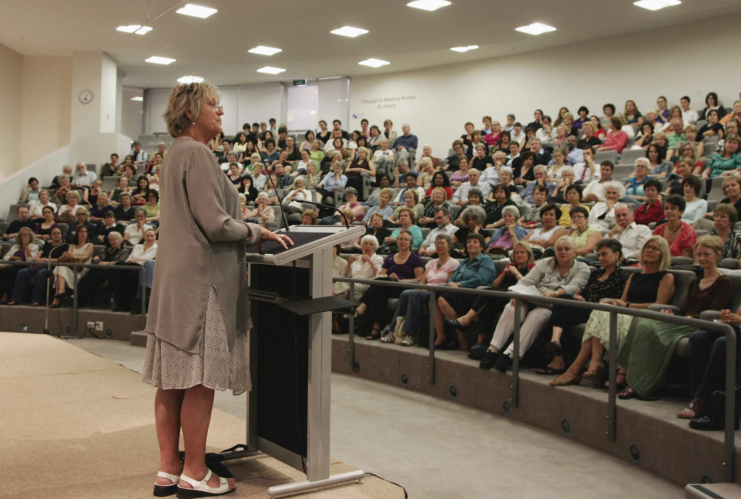 What the row over banning Germaine Greer is really about