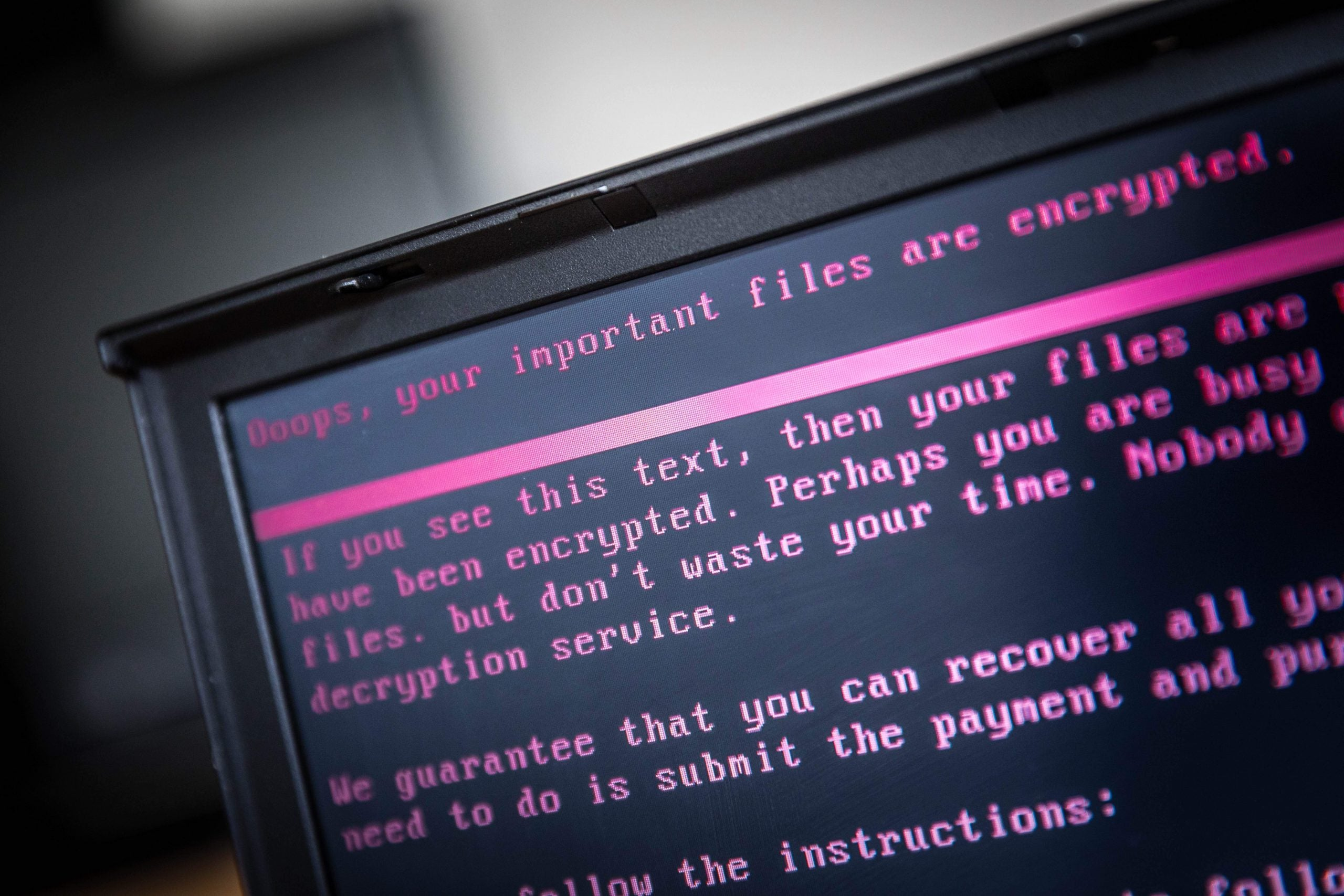 Why have we had to rely on hackers to stop catastrophic ransomware again?