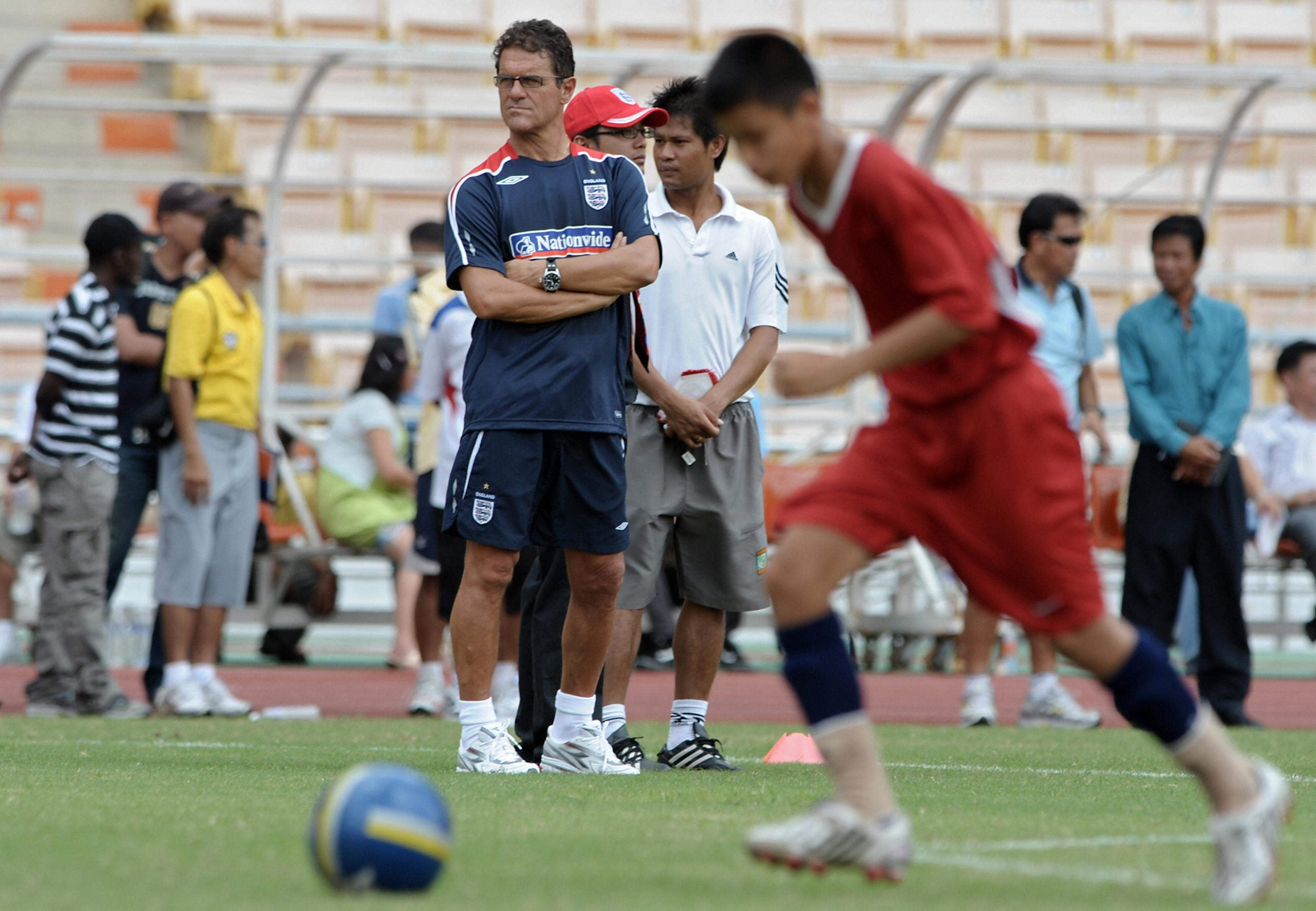 It's obvious why Thais can't resist our English footballers. Butthey want our schools, too