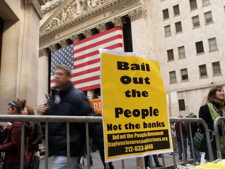 The price of the financial crash was extortionate for almost everyone except the banks
