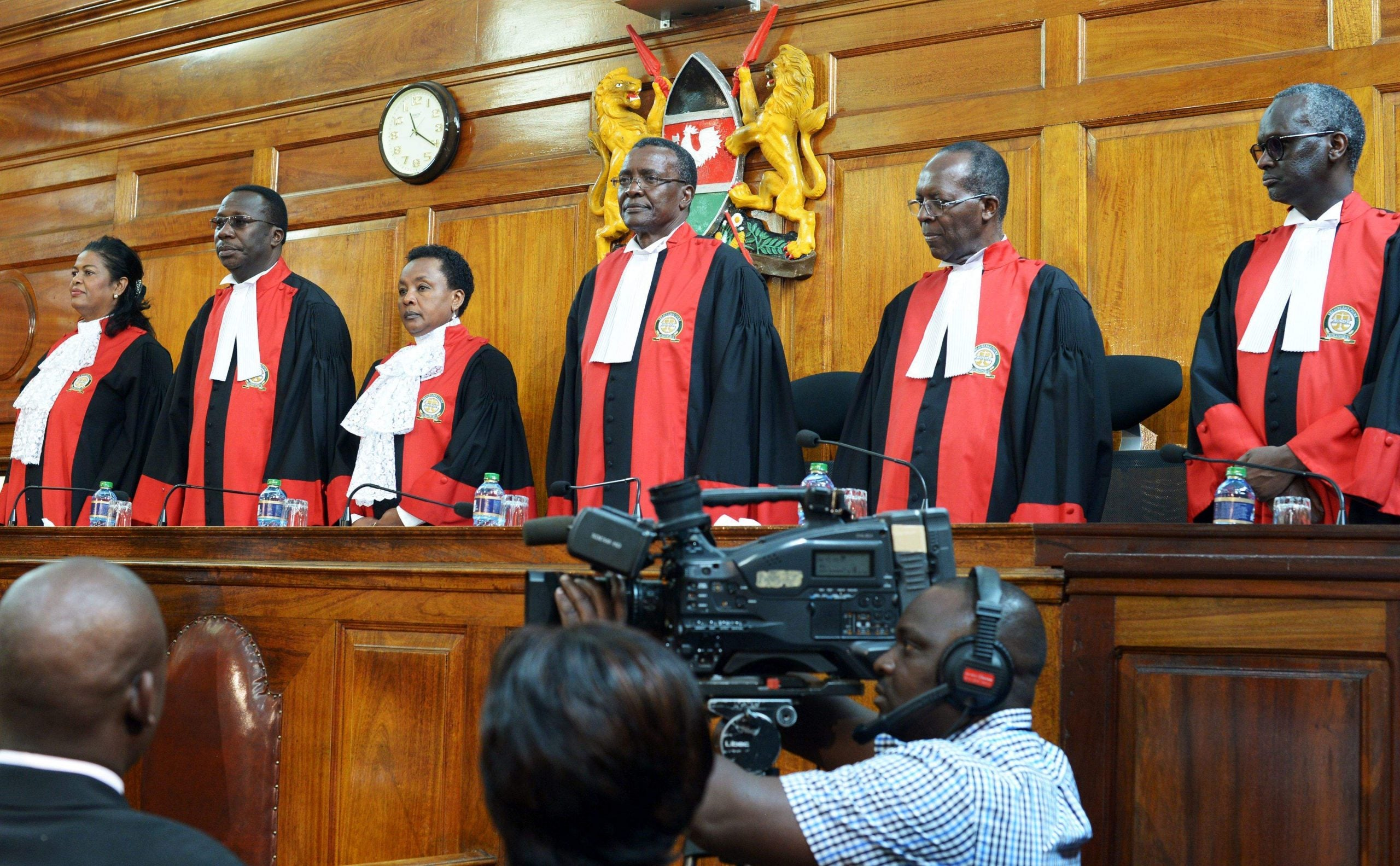 The judges who defied the president: why Kenya's election is being rerun