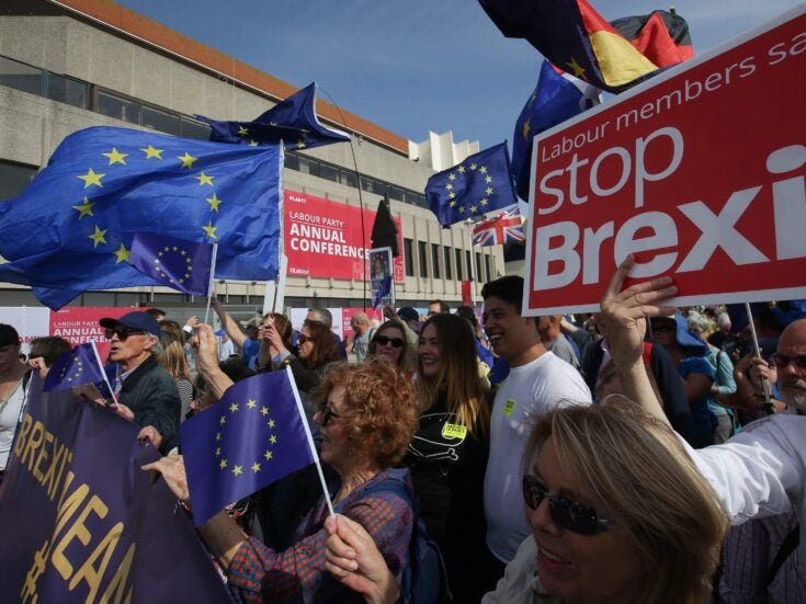 The wedge driven between the anti-Brexit movement and the political left is hurting us all