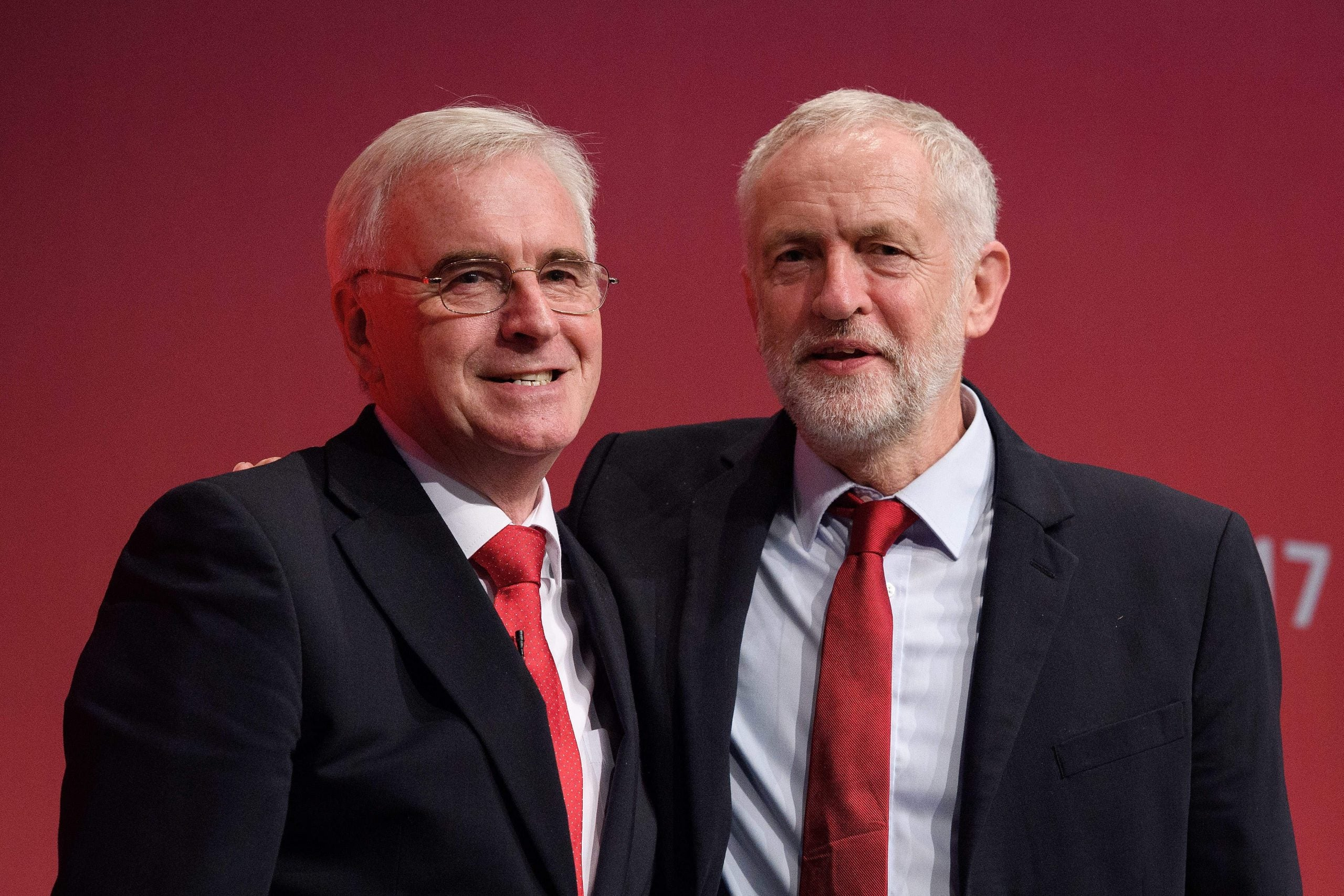 Is McDonnell and Corbyn's disagreement the beginning of a Blair and Brown-style split?