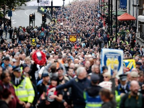 The far-right is attempting to return to football. These are the fans fighting it