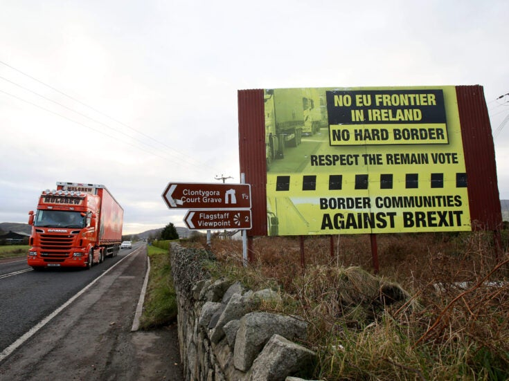 How the Brexit battle over the Irish border throws the peace process into jeopardy