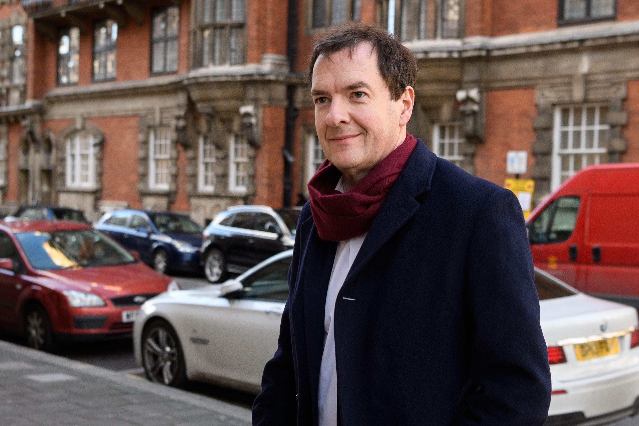 Six vodkas and five champagnes down, and it's time to talk to George Osborne