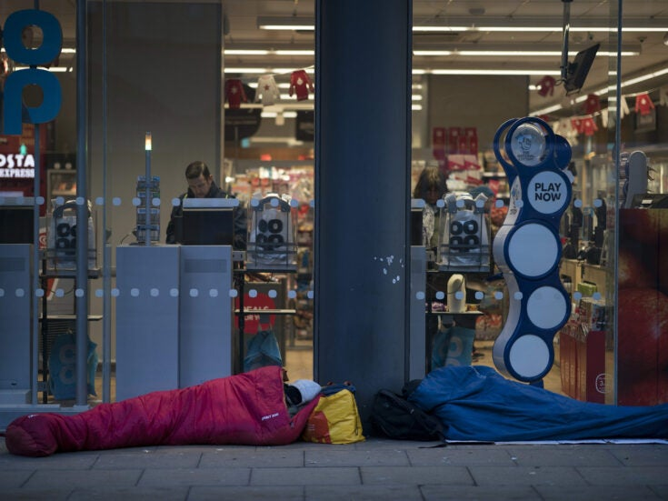 The squatters and rough sleepers taking up the fight against homelessness in Manchester