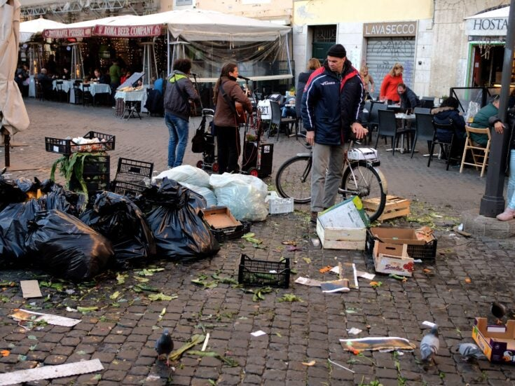 Italy's scruffy cities and corrupt politicians highlight the flaws of the eurozone