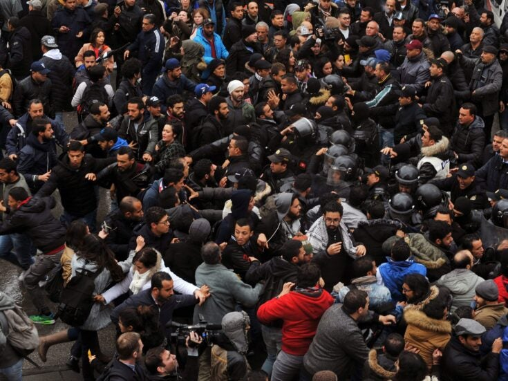 Why Tunisians have once again taken to the streets in protest