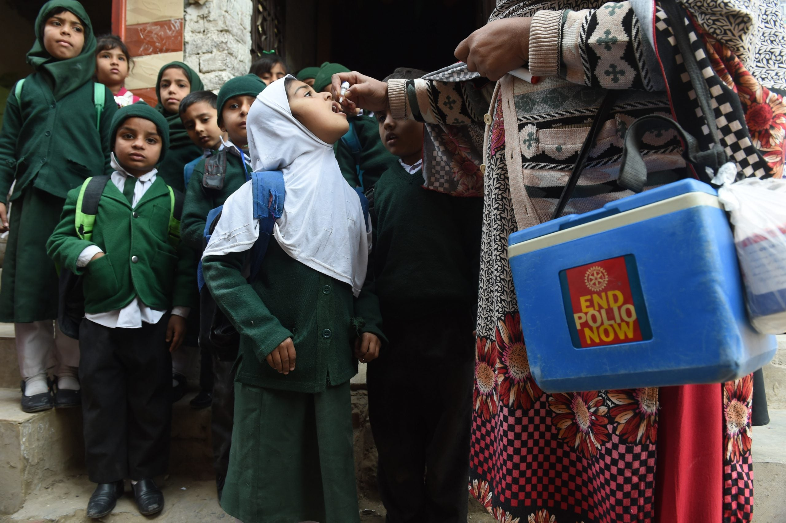 We have now nearly eradicated polio – Covid needs the same treatment