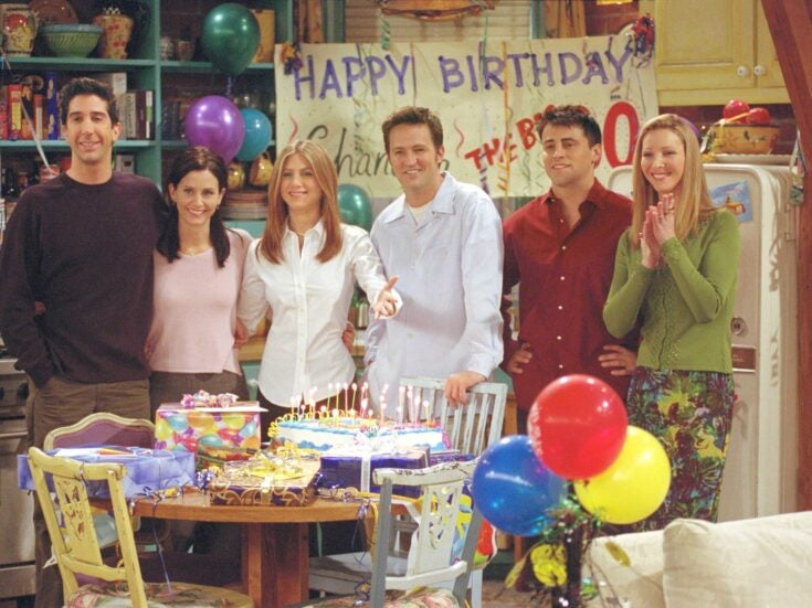24 years after it first aired Friends is the UK's most-watched TV show