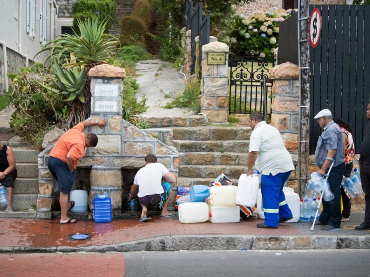 Cape Town is running out of water and Day Zero is looming