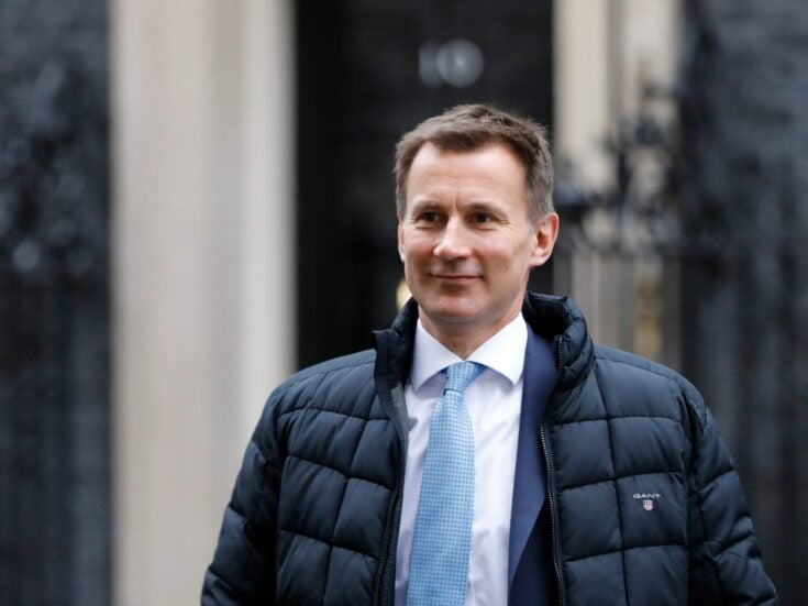 Jeremy Hunt is still clinging to his job because he has big plans for April