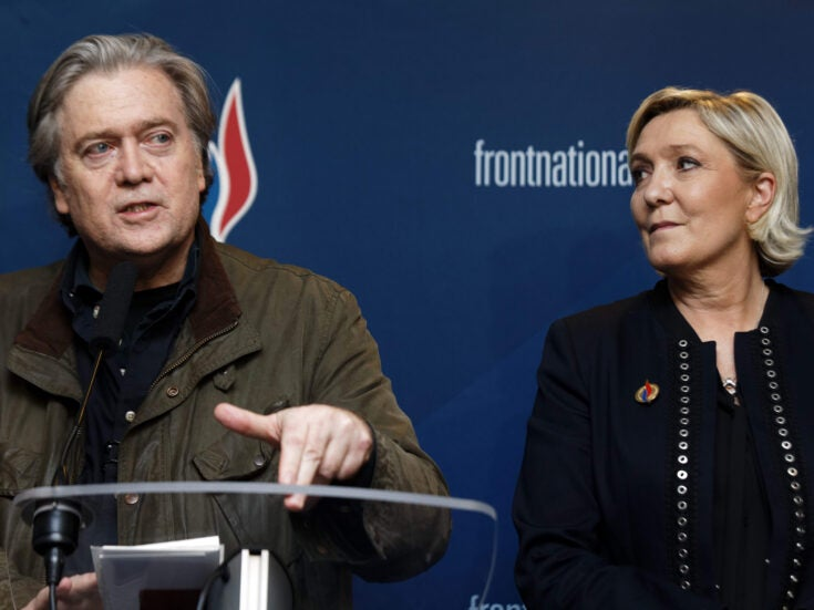 Steve Bannon's support for Tommy Robinson shows the far right is dangerously united