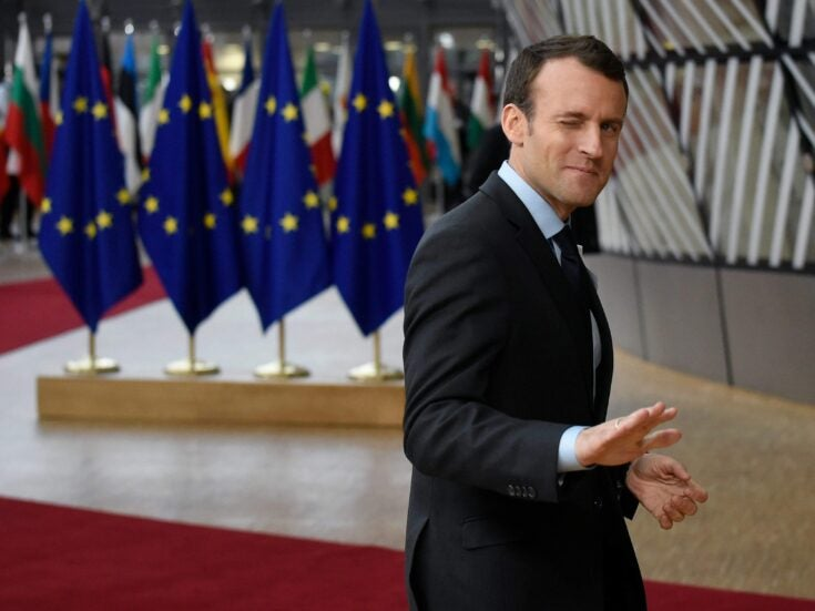 The heir to Blair? Macron is more like the French Thatcher