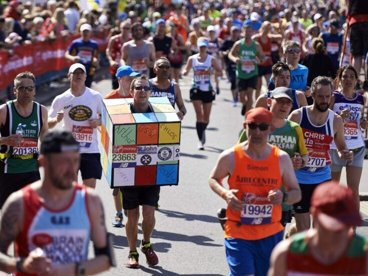 Many like to switch off by playing sport but don't shy away from a marathon of the mind