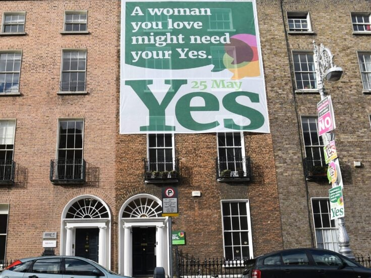 Ireland's Yes campaigners' greatest success? Convincing voters that women are people too