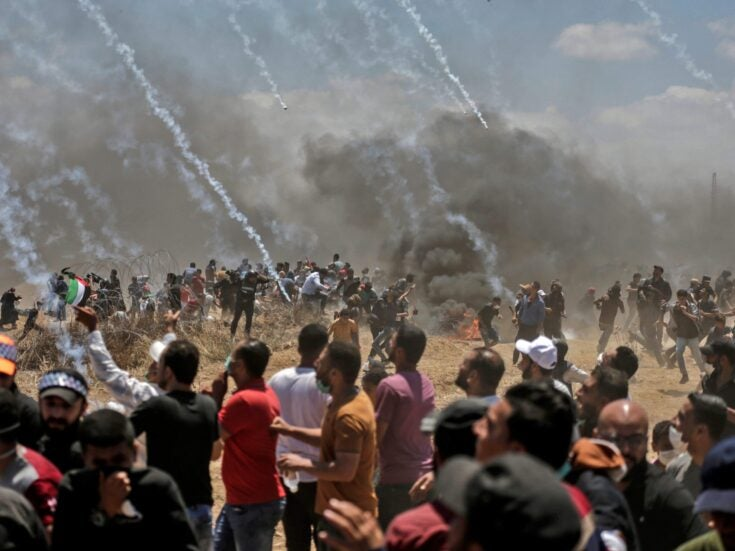 The Gaza protests are about more than the US embassy