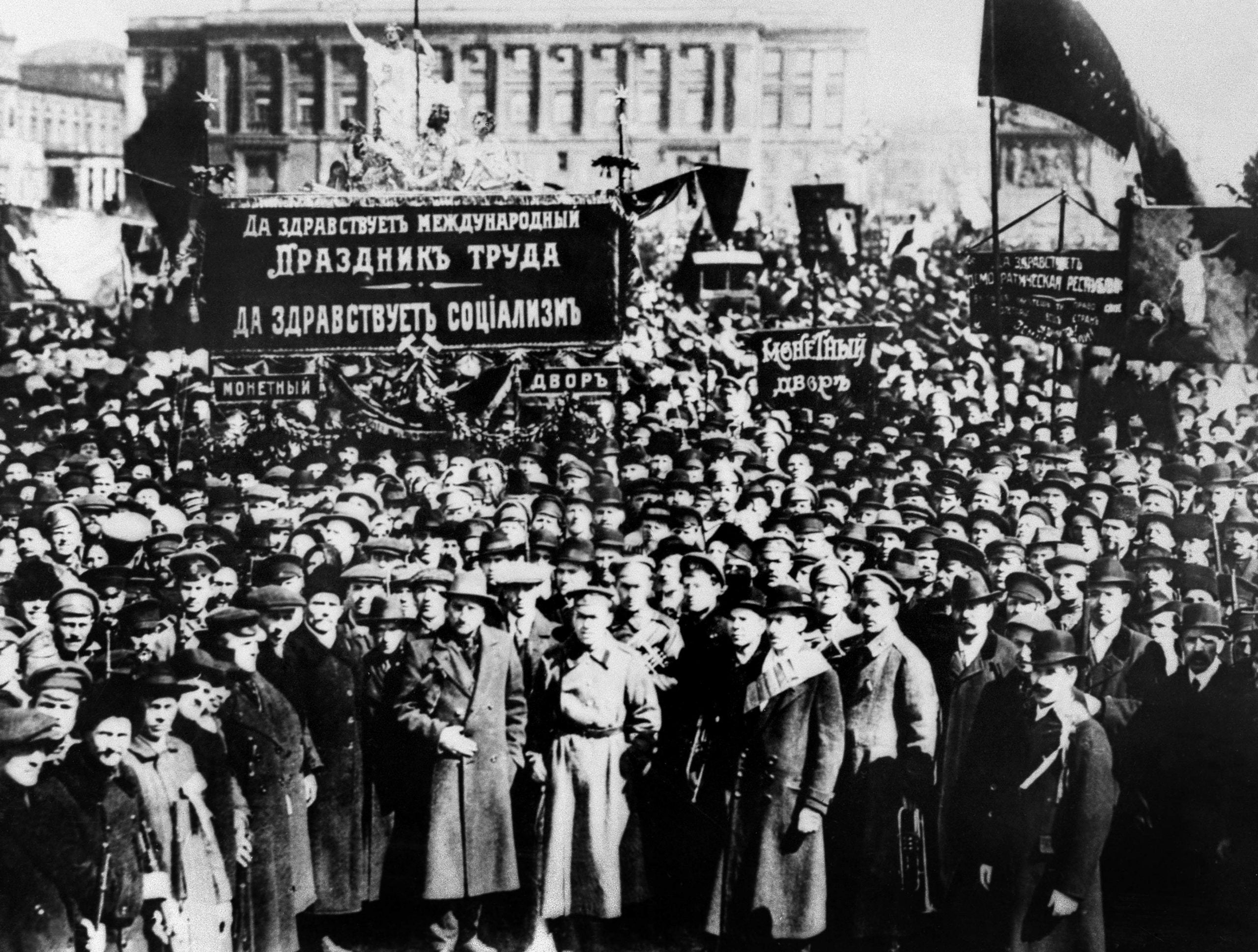 From the 1917 Revolution archive: Russia's New Holy Alliance