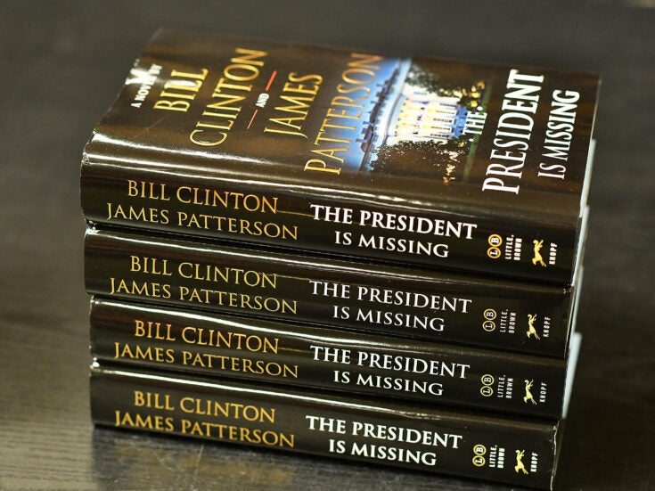 Bill Clinton's first foray into fiction writing is a thinly-veiled, cringe-worthy superhero fantasy