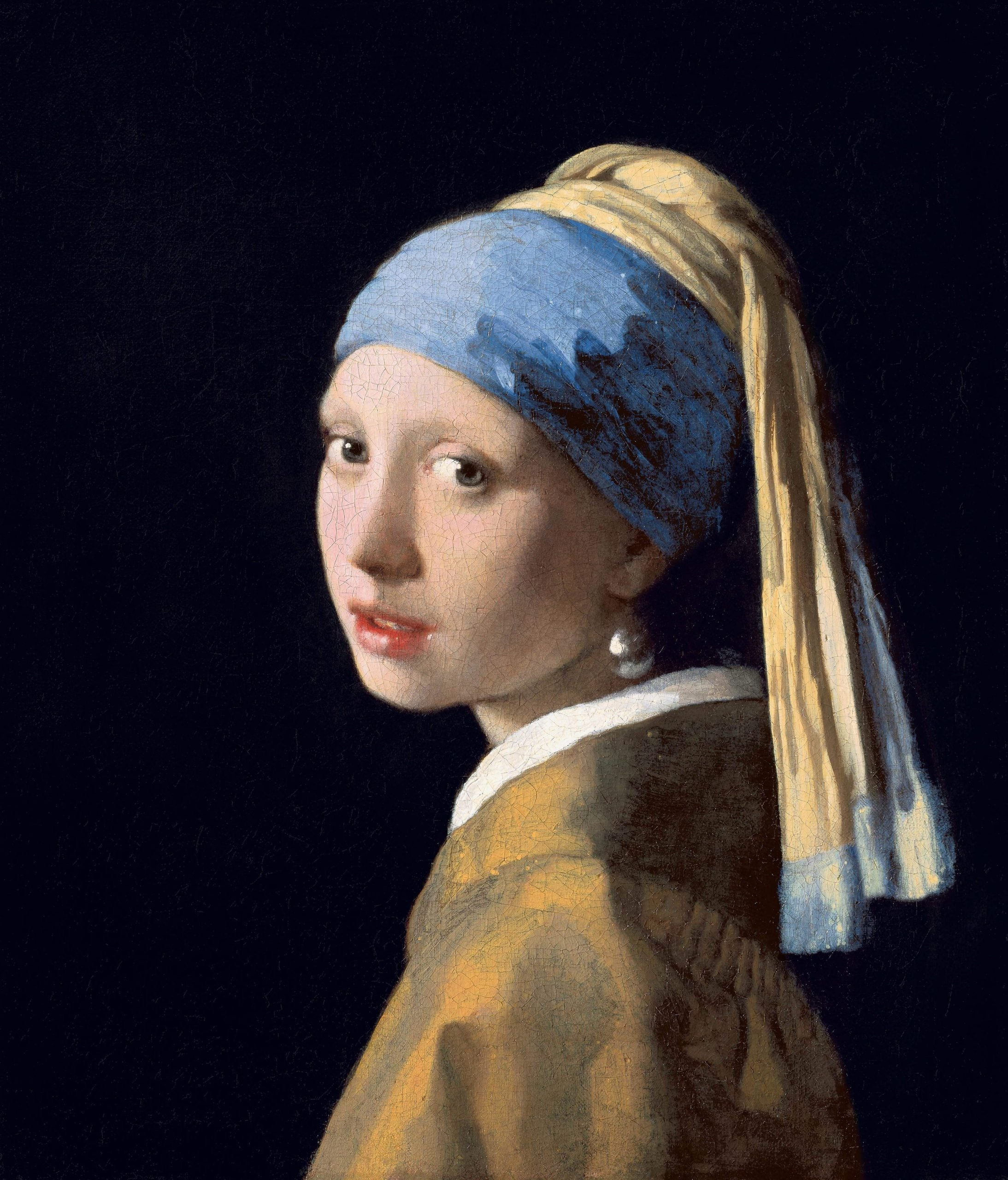 The Girl with a Ball Bearing Earring? A case study of when science unpicks art