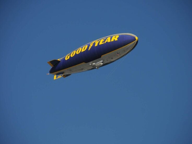 The day I rode the Goodyear Blimp