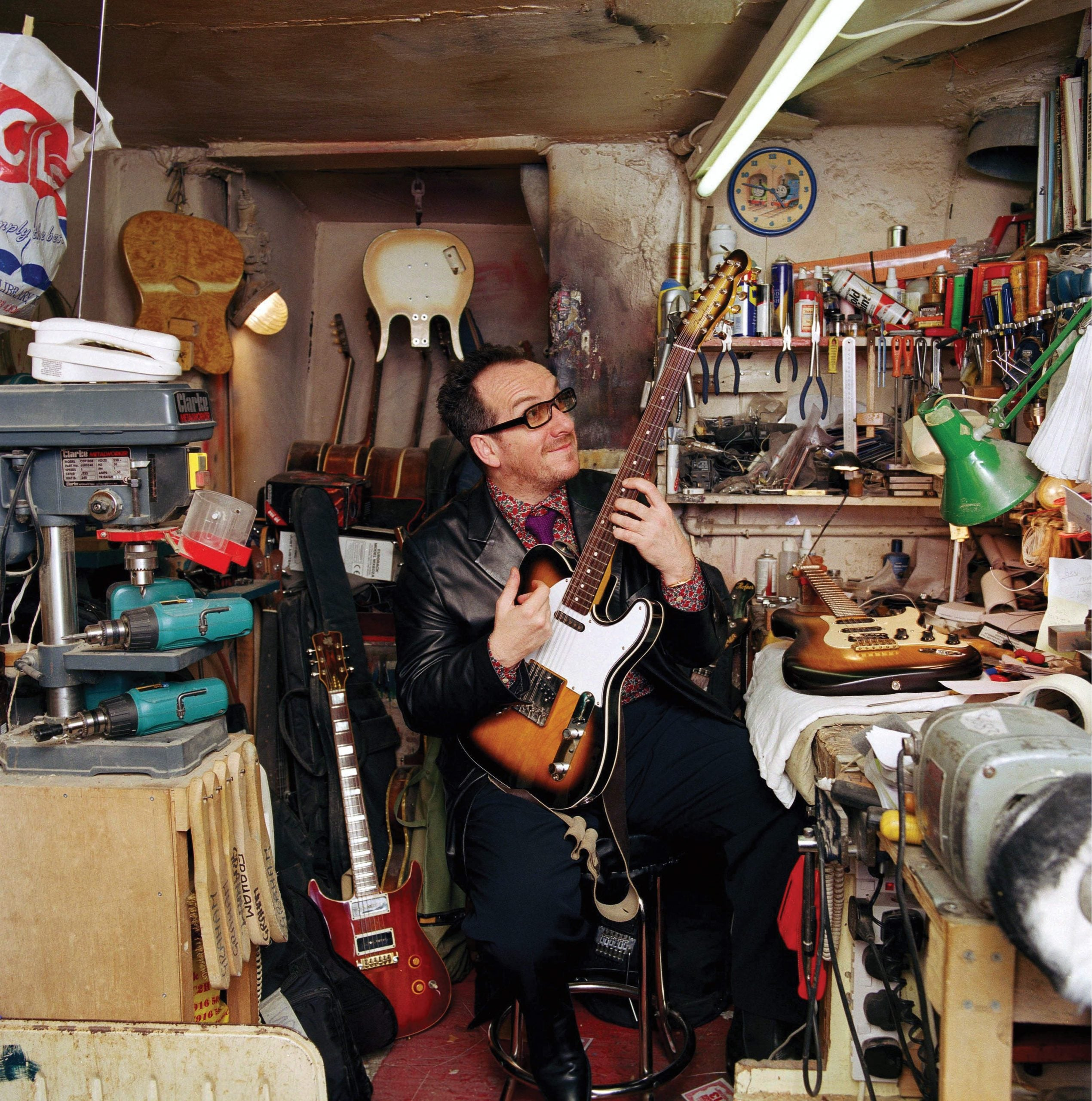The butterfly mind of Elvis Costello