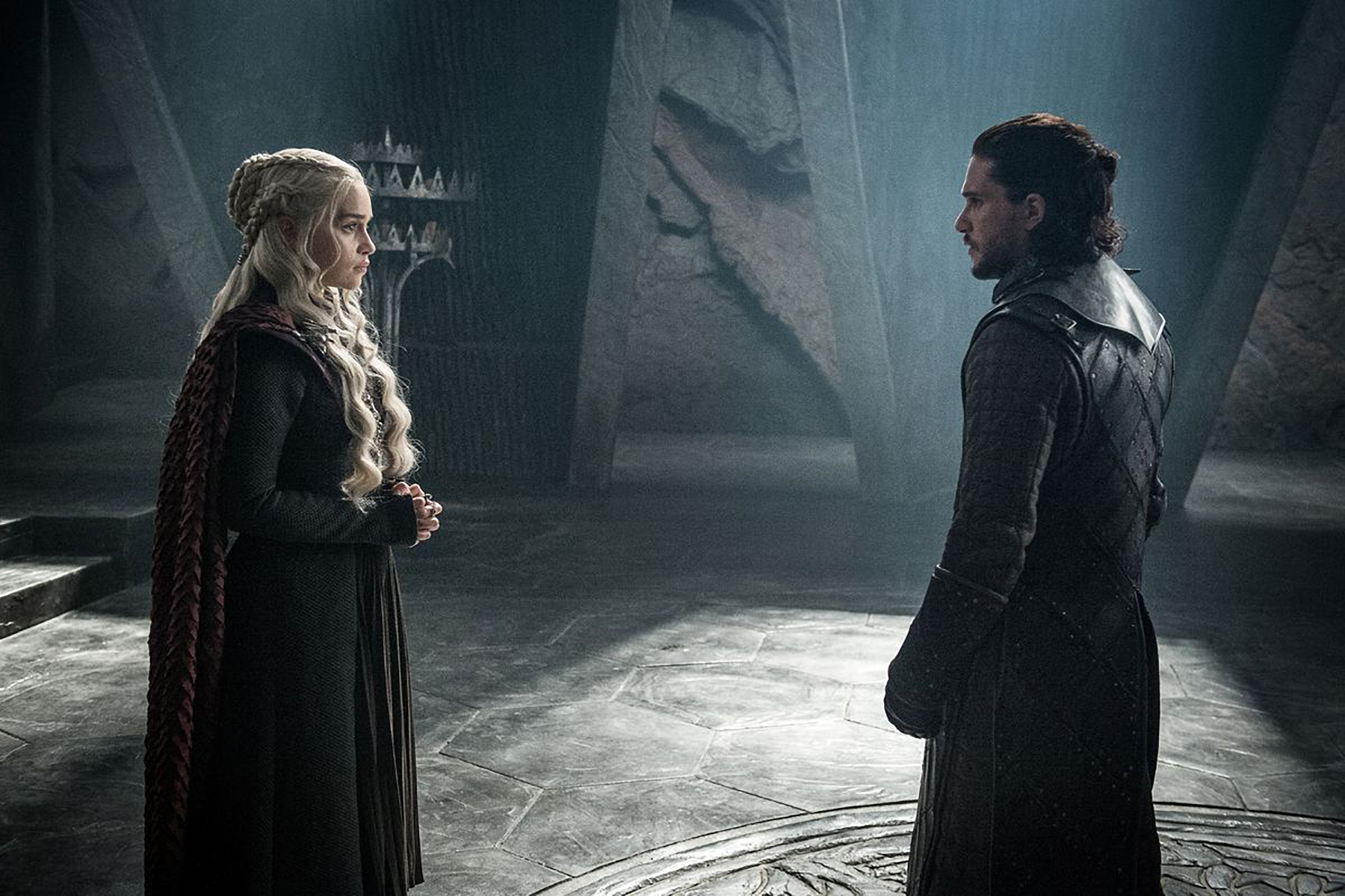 What happens in Game of Thrones when ice and fire finally come together?