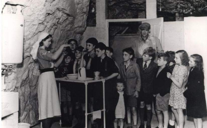 Deep in Chislehurst Caves, the families of the Blitz built whole new lives underground