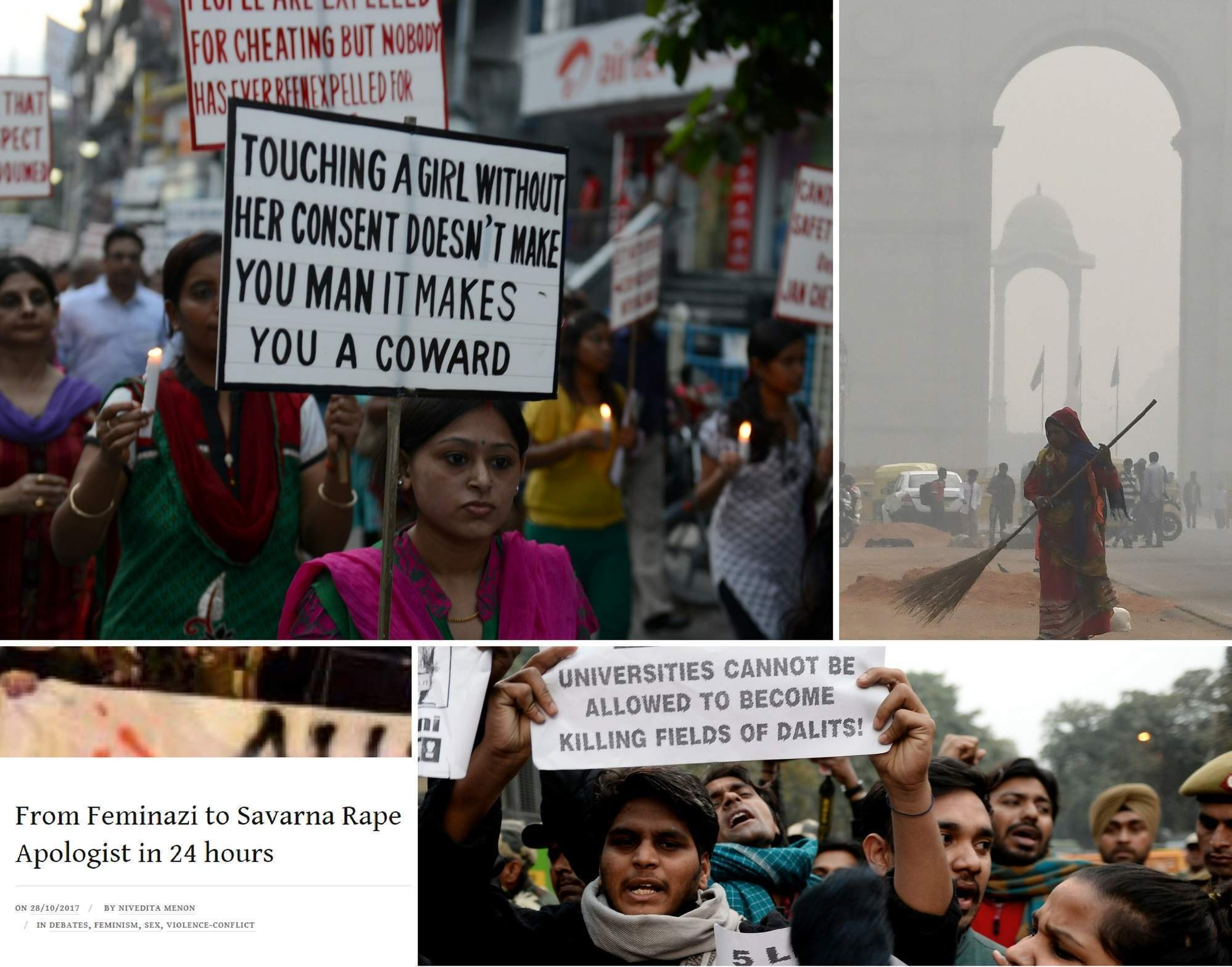 """Breaking the """"savarna feminism"""" rules  – how Raya Sarkar's list of alleged harassers divided opinion in India"""