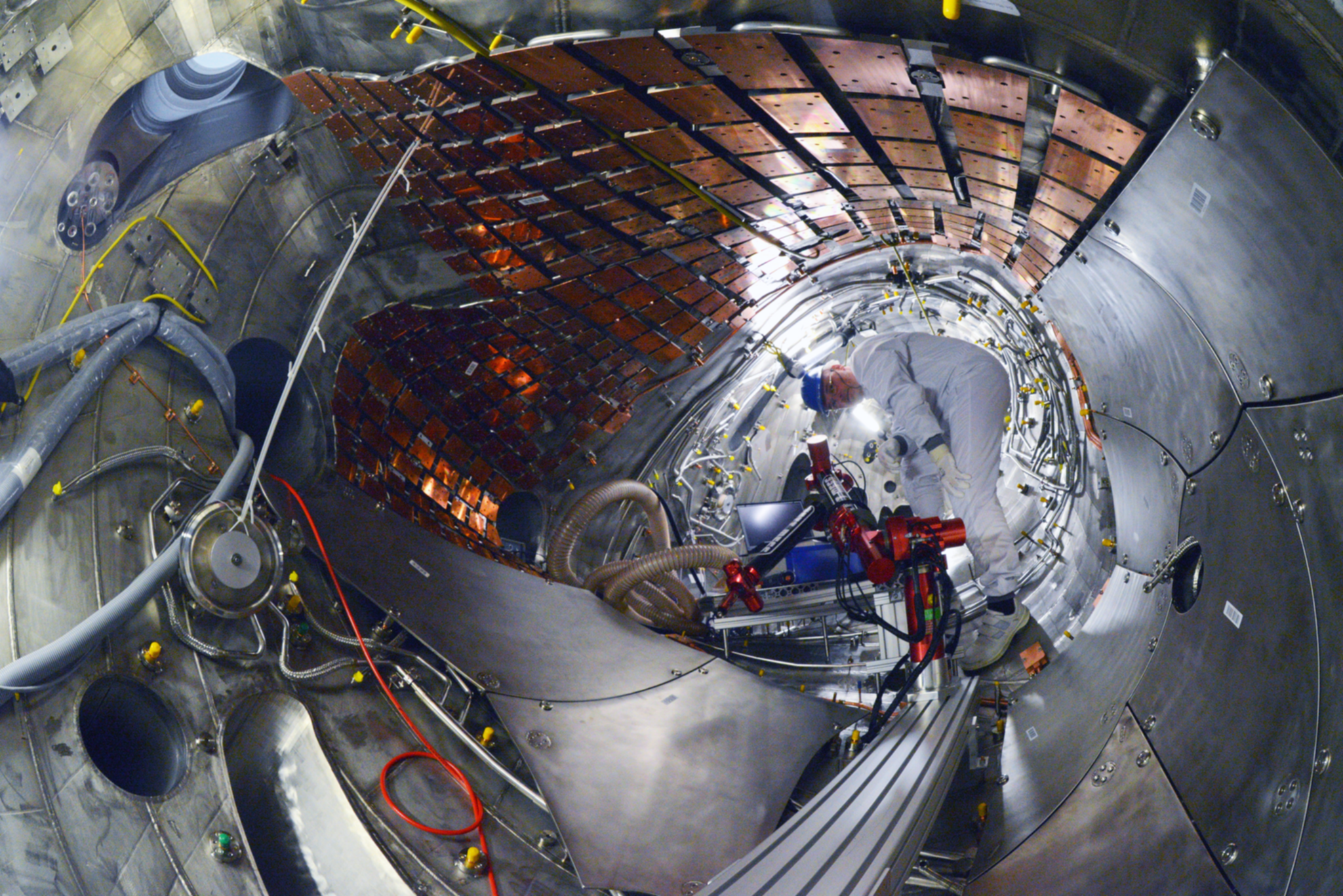 Too cool for fuel: inside the nuclear fusion reactor Wendelstein 7-X stellarator