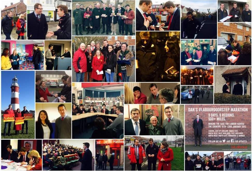 Late decisions, the Ukip temptation, and NHS fears: a Labour MP's doorstep marathon