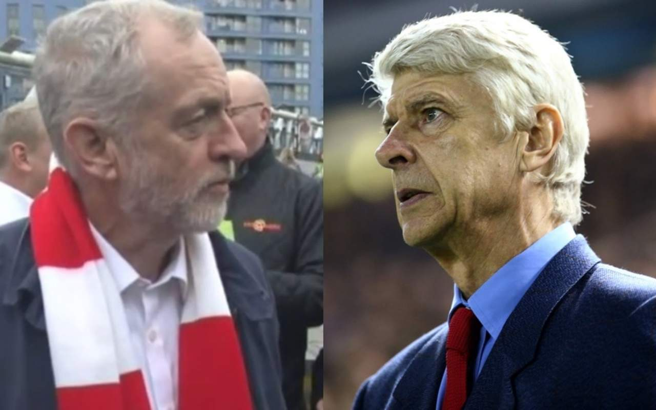Could Jeremy Corbyn help Arsène Wenger in his hour of need?