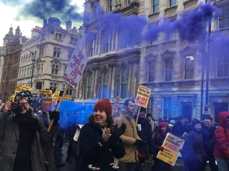 Why students are coming out in support of their striking lecturers