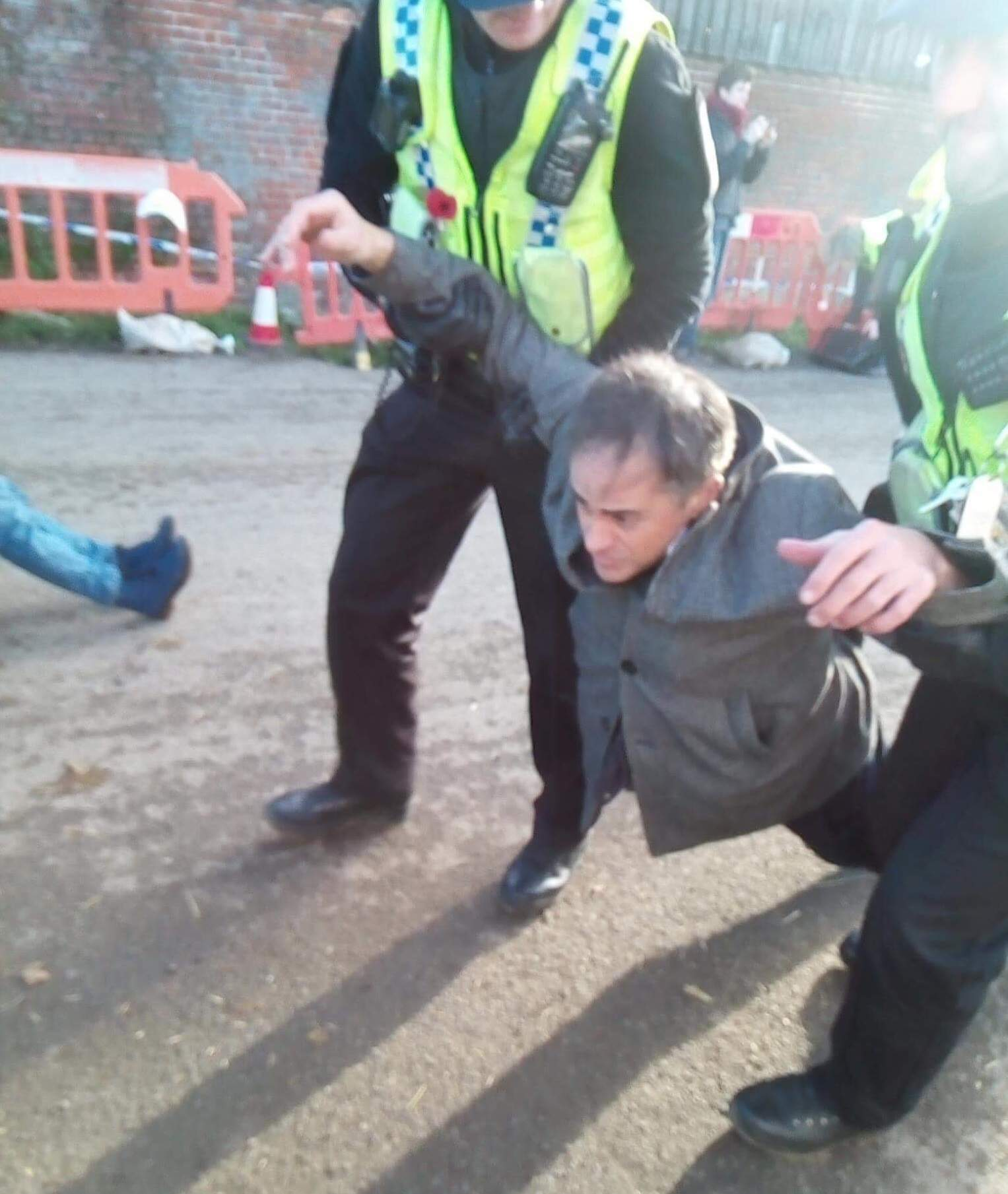 Police aggression can't beat the moral force of the green movement