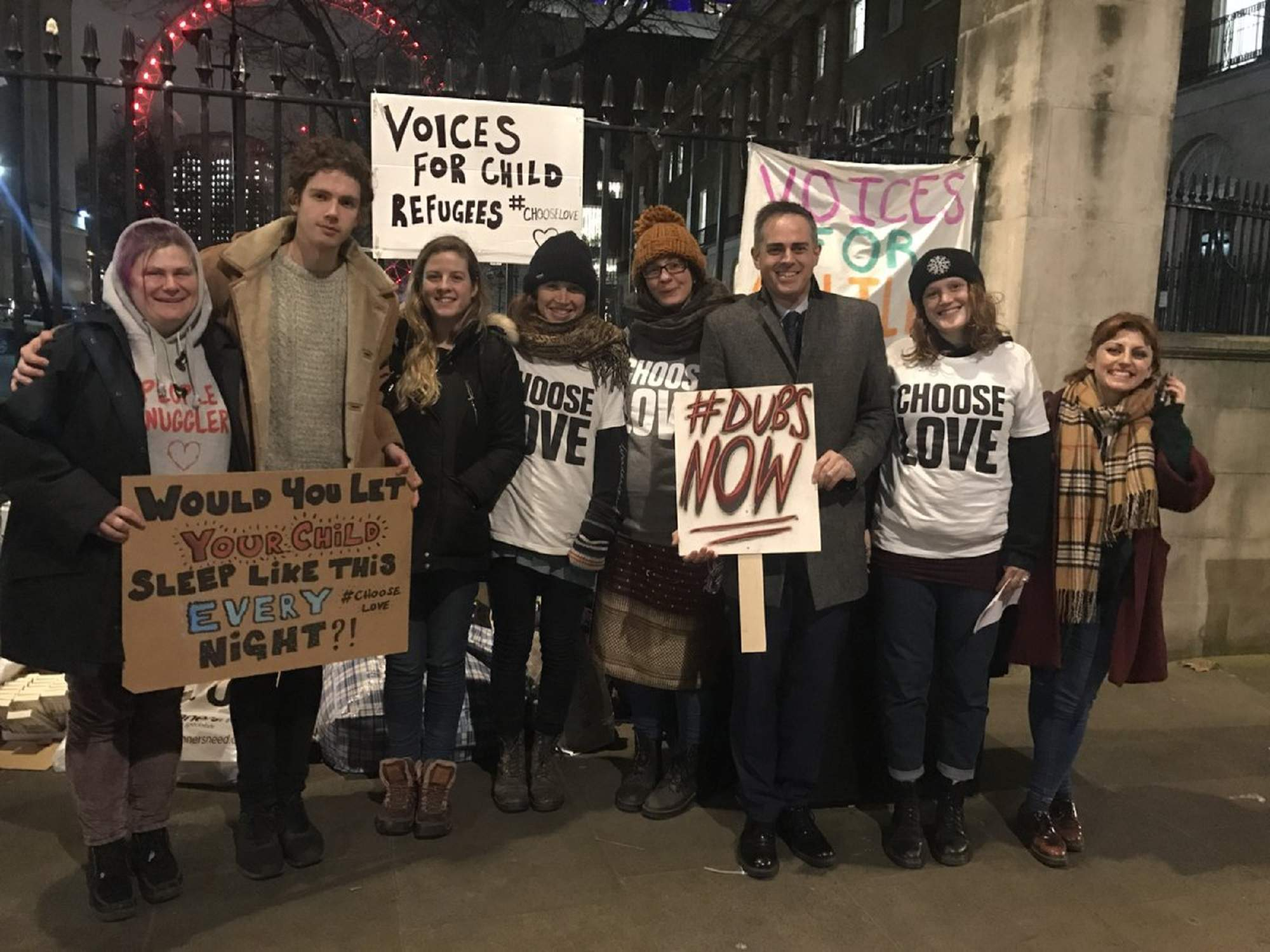 Why I slept on the street outside Downing Street
