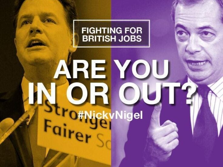 Why Clegg and Farage will both win from their debates