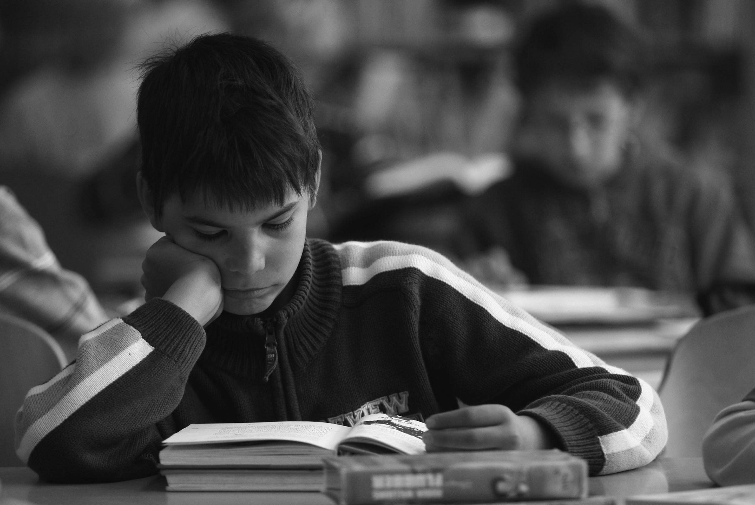 What literacy can do for children in institutions