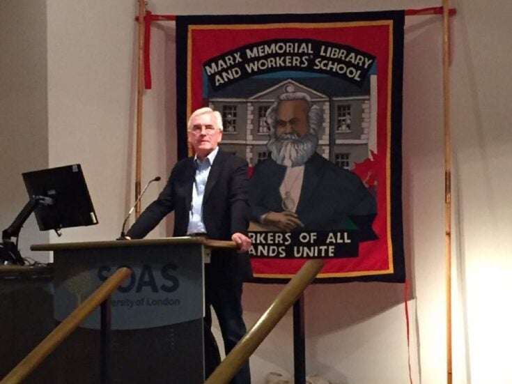 How John McDonnell is leading the surprise rebirth of British Marxism