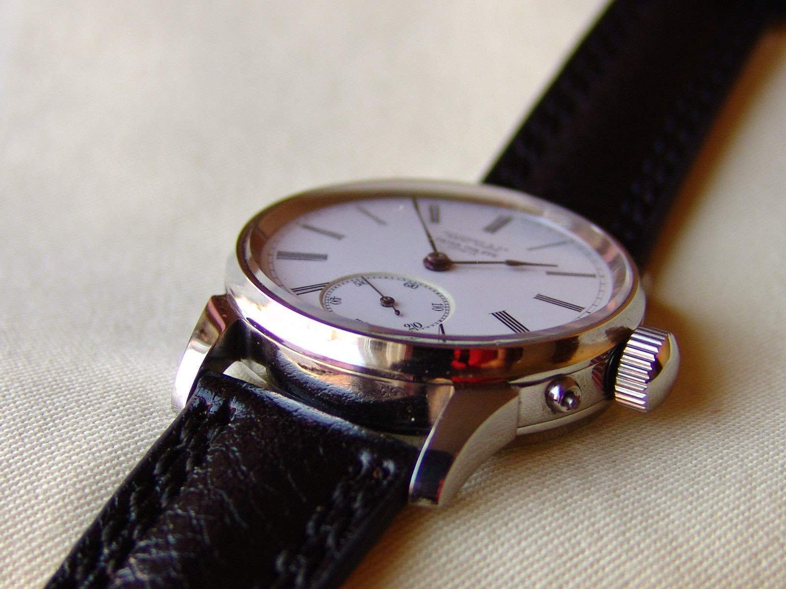 The story of the old lieutenant's wristwatch