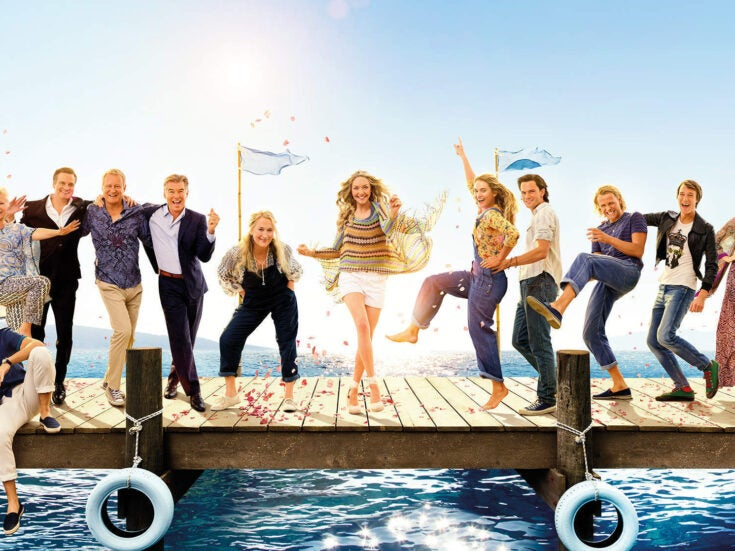 Mamma Mia! Here We Go Again is impossible to resist