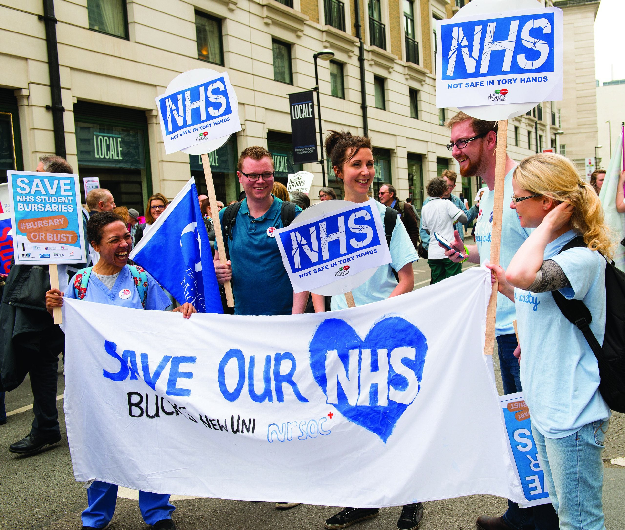 The NHS doesn't just need better management. It needs more income from taxes