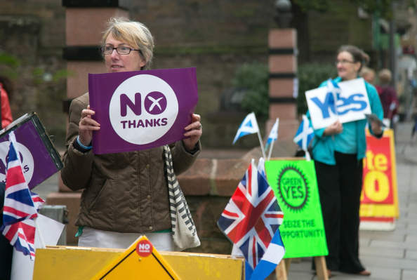 I'm not sure if the SNP believe what they're saying. But you certainly shouldn't