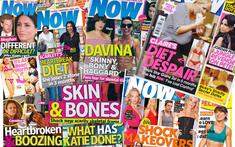 Good riddance to Now magazine. Future generations of girls will escape its cruel body shaming