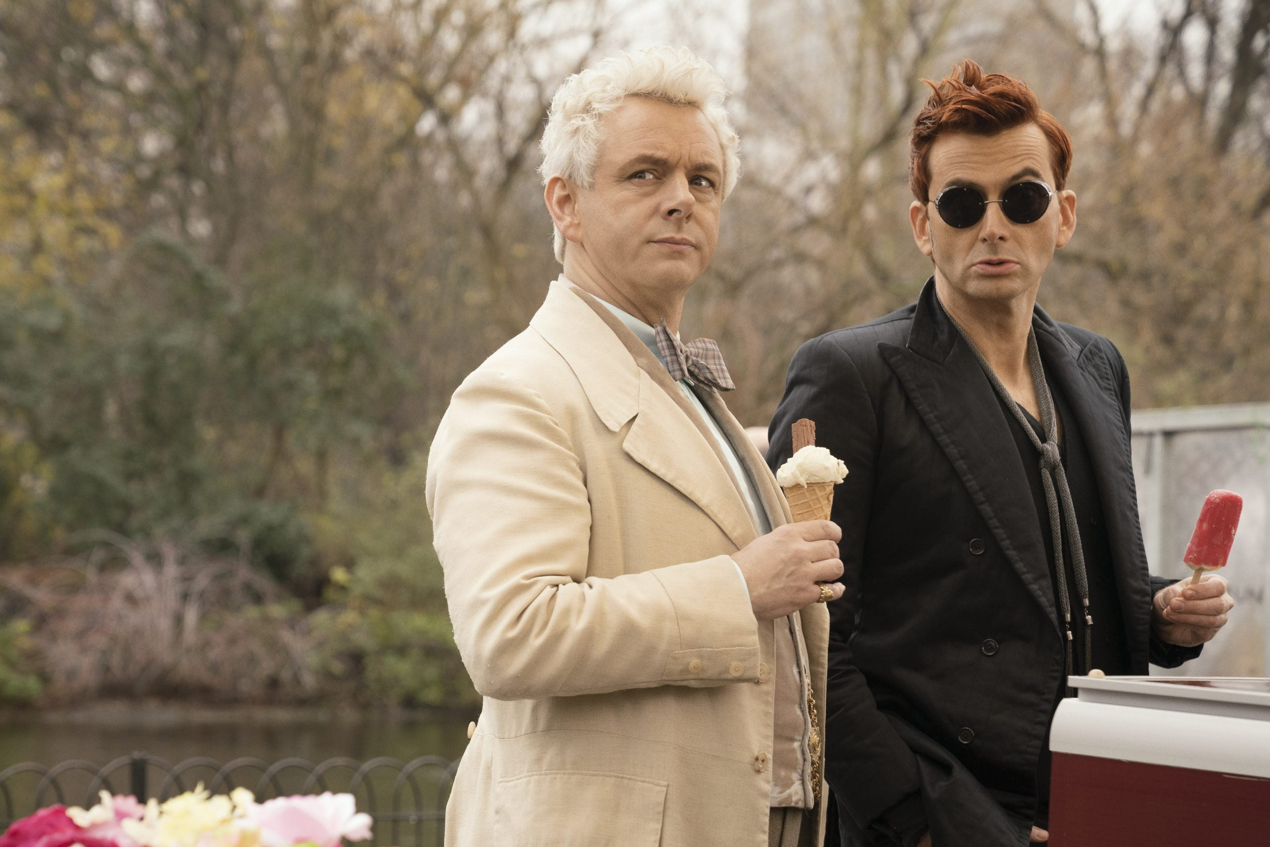 Amazon's Good Omens is exhaustingly arch and terribly twee
