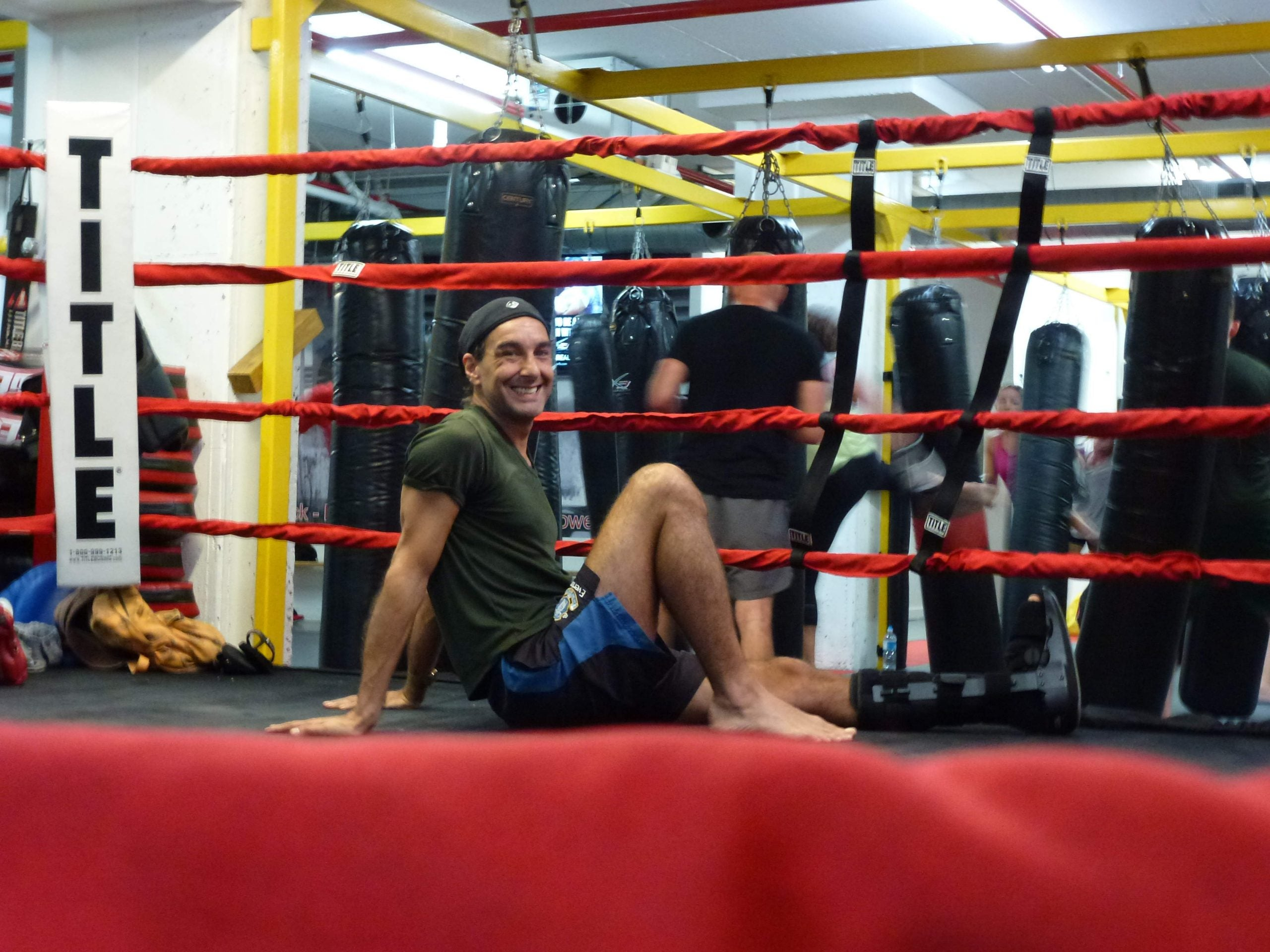 Trash talk, bro huddles and yakuza tattoos: how I accidentally became a cage-fighting coach