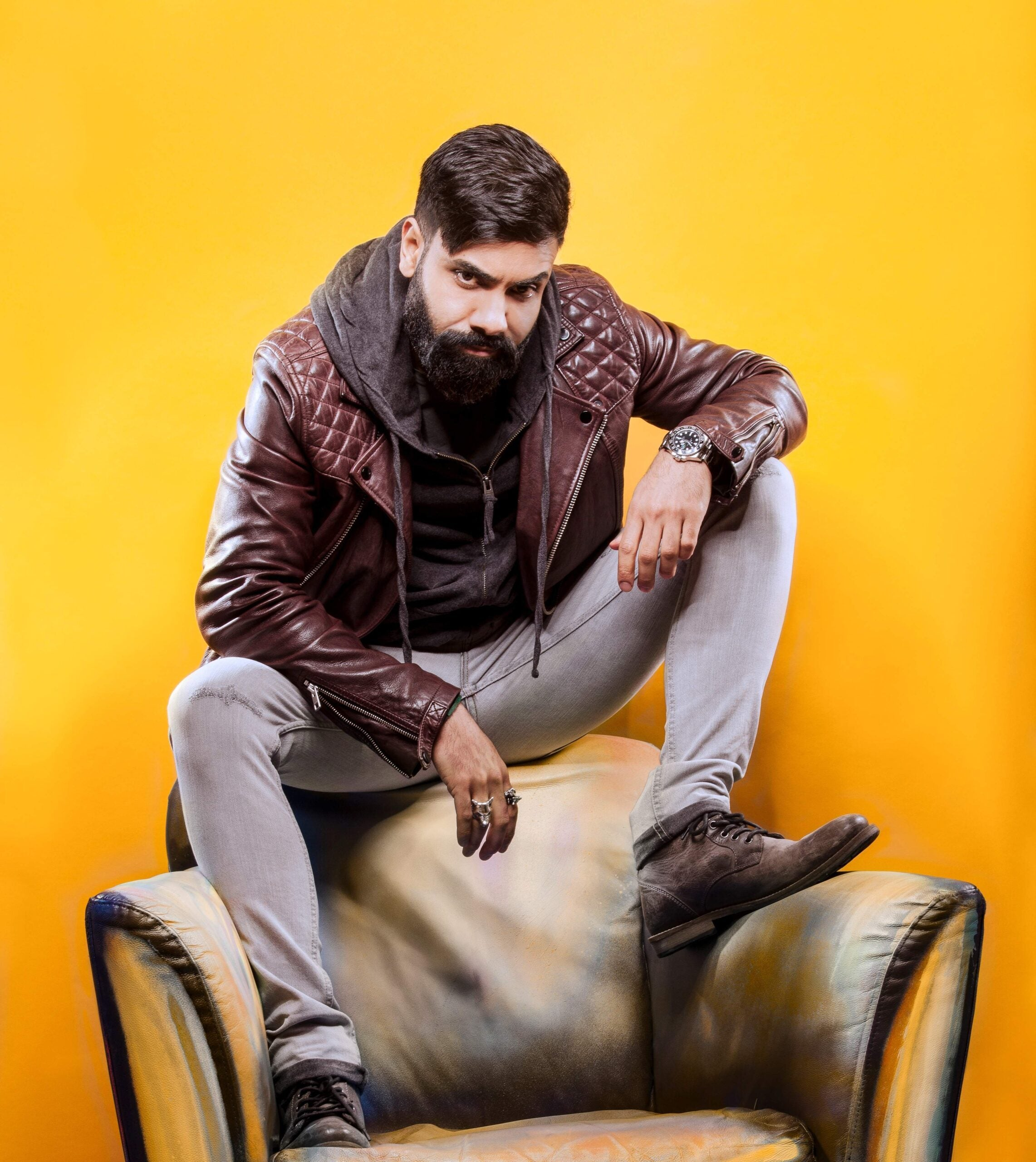 """Paul Chowdhry: """"Mental health problems aren't really discussed in the Asian community."""""""